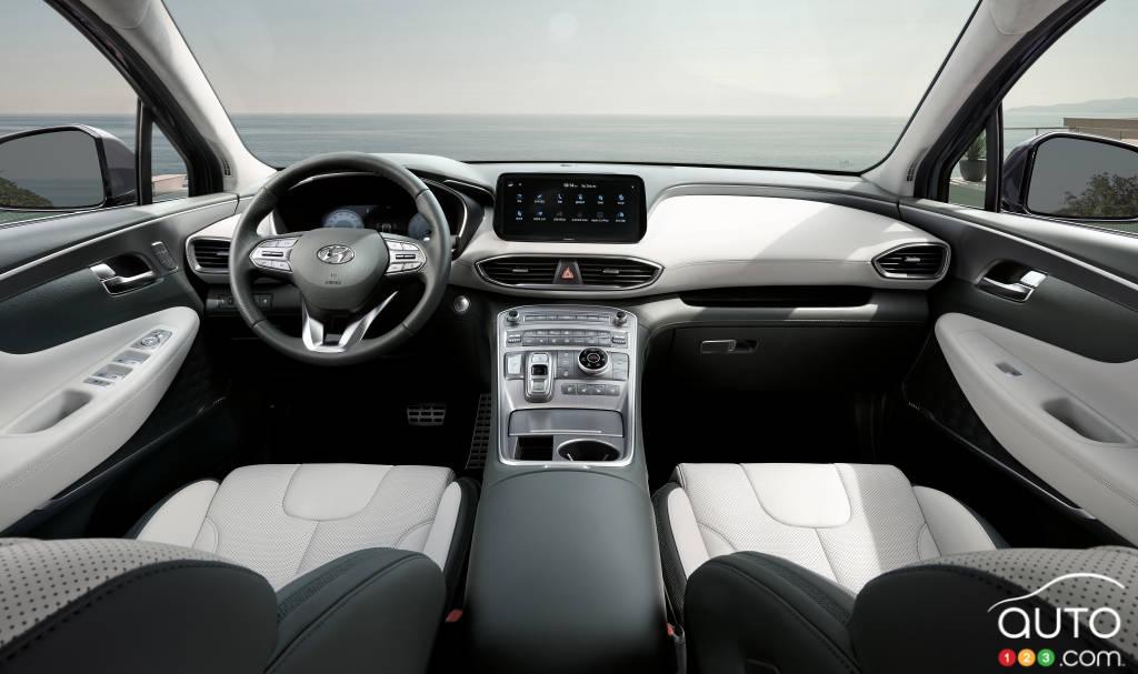 Hyundai Santa Fe 2021, intérieur