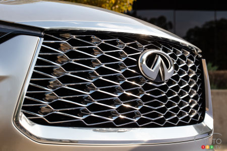 Infiniti QX60 Monograph, front grille