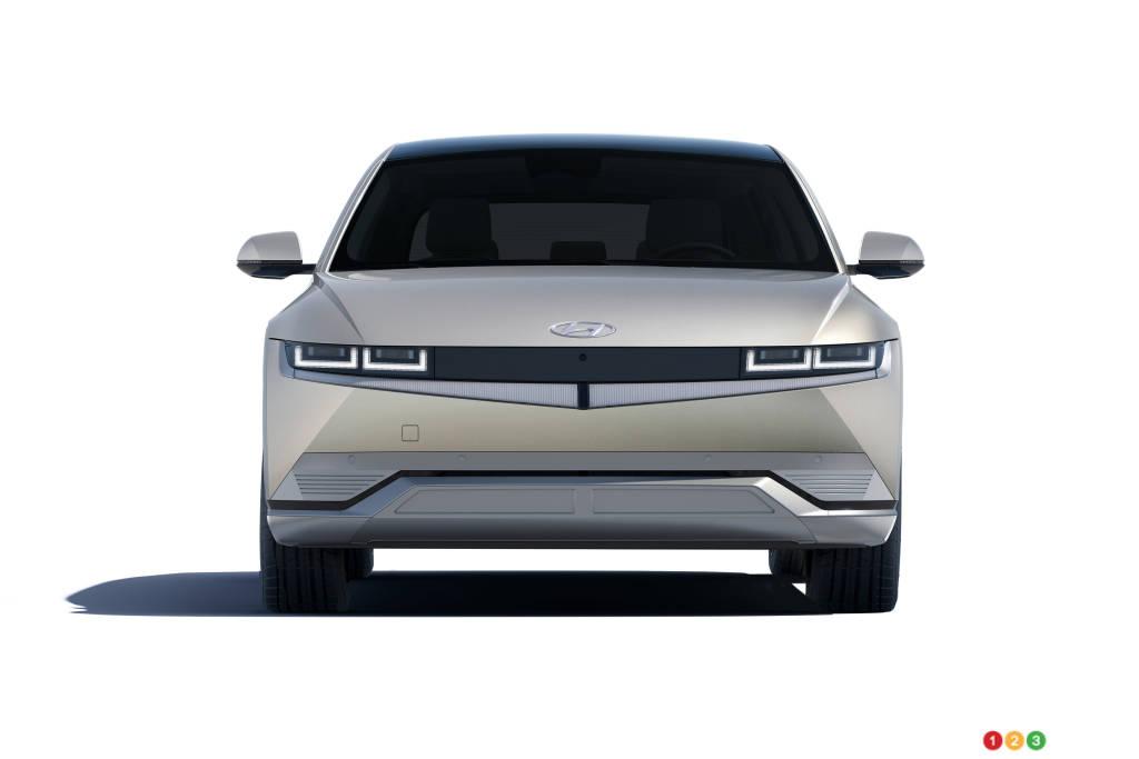Hyundai Ioniq 5 2022, avant