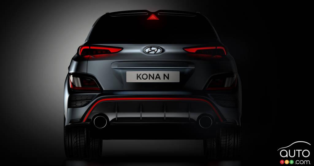 Hyundai Kona N, arrière