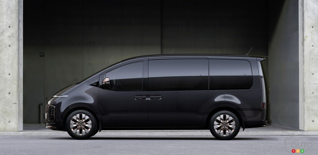 Hyundai Staria, profil