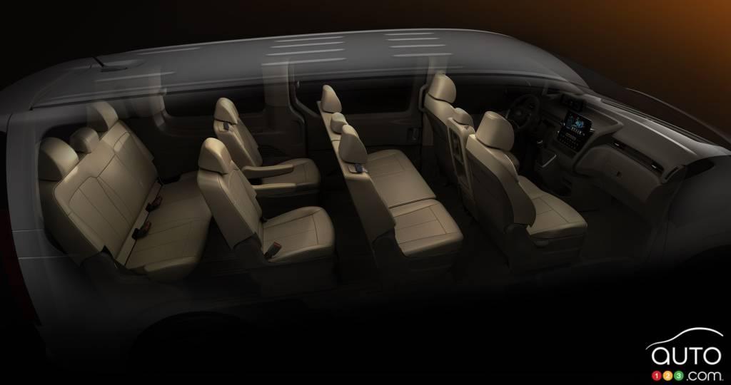 Hyundai Staria, intérieur