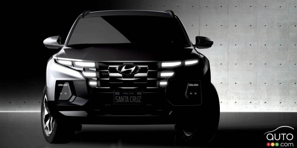 Hyundai Santa Cruz, avant