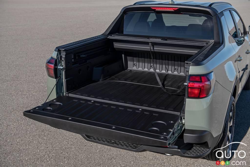 Hyundai Santa Cruz 2022, caisse