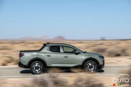 2022 Hyundai Santa Cruz, profile