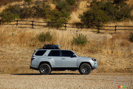 2020 Toyota 4Runner, profile