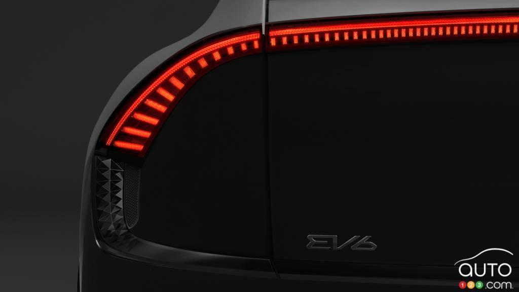 Kia EV6, feux