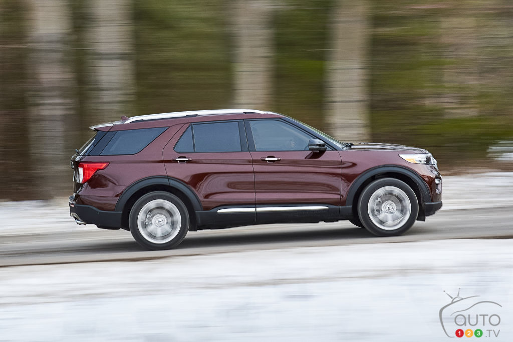 Ford Explorer 2020, profil