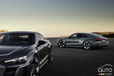 The 2022 Audi e-tron GT and RS Audi e-tron GT