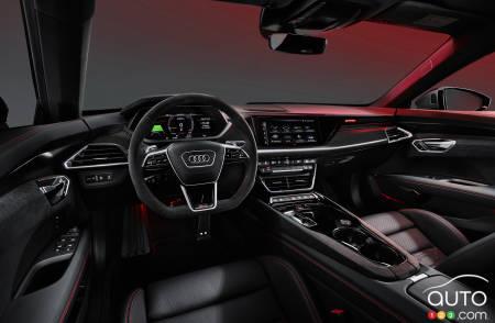 Audi e-tron GT, interior