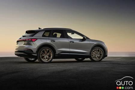 2022 Audi Q4 e-tron, profile