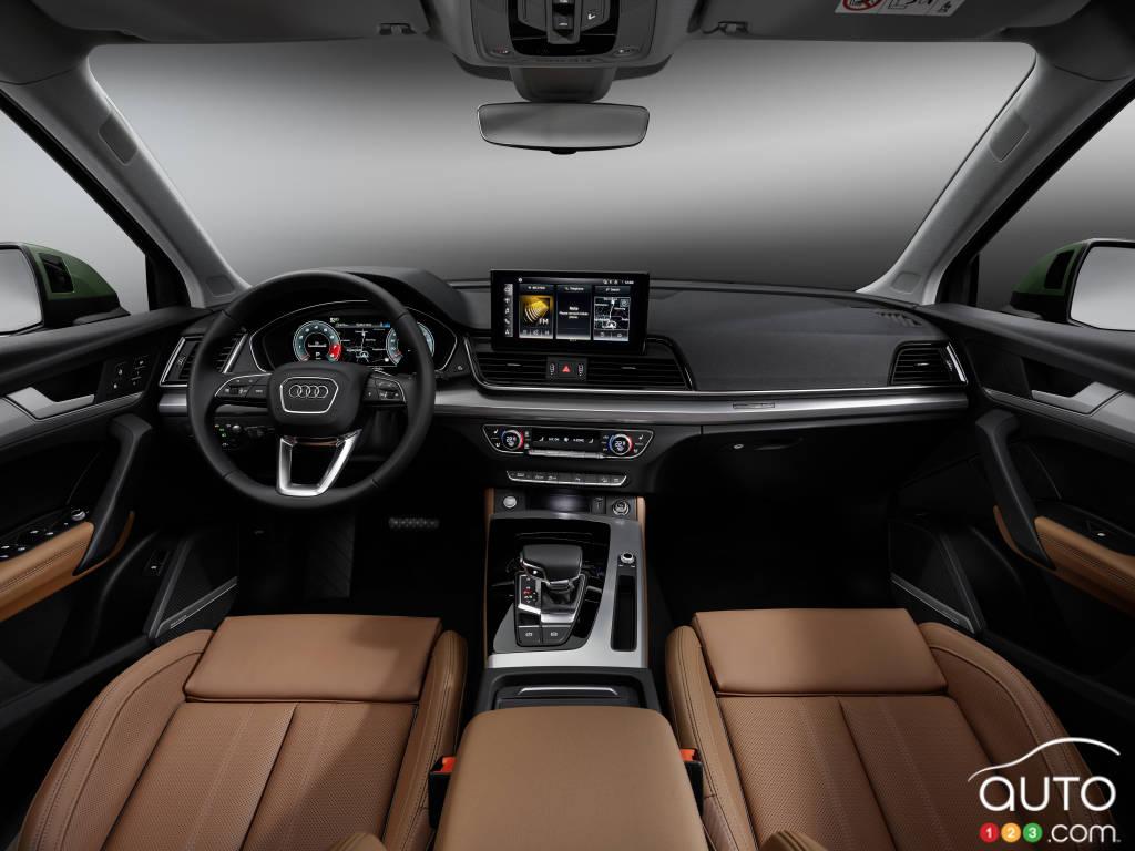 Audi Q5 2021, intérieur
