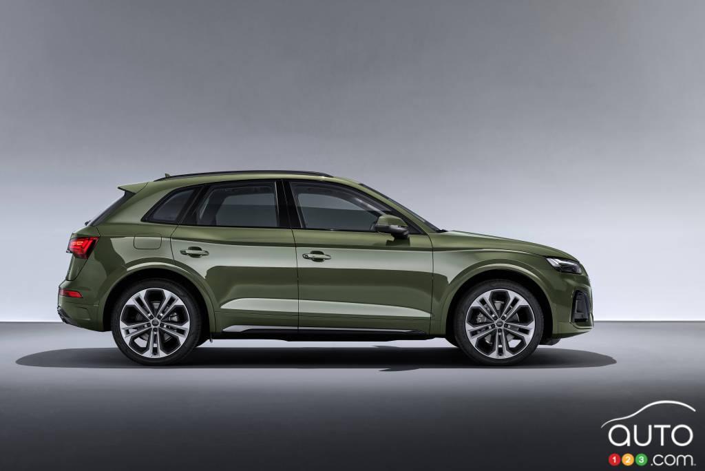 Audi Q5 2021, profil