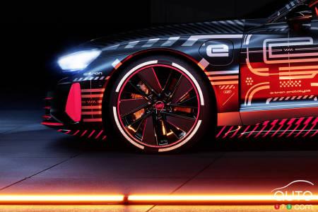 2021 Audi e-tron GT, profile