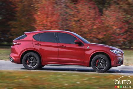 2019 Alfa Romeo Stelvio Quadrifoglio Details Images Car News