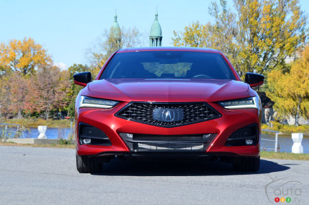 2021 Acura TLX A-Spec, front