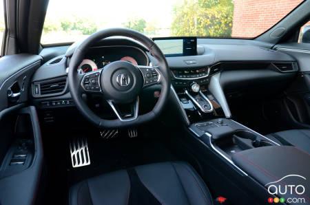 2021 Acura TLX A-Spec, interior