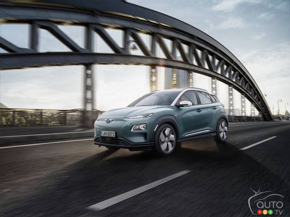 le hyundai kona lectrique aura une autonomie de 400 km hyundai casavant. Black Bedroom Furniture Sets. Home Design Ideas