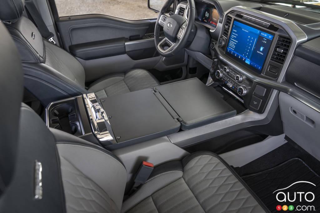 Ford F-150 2021, intérieur