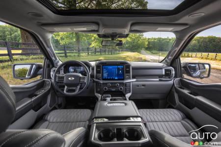 2021 Ford F-150, interior