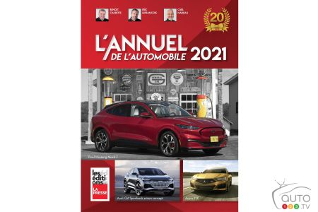 L'Annuel de l'Automobile 2021, cover