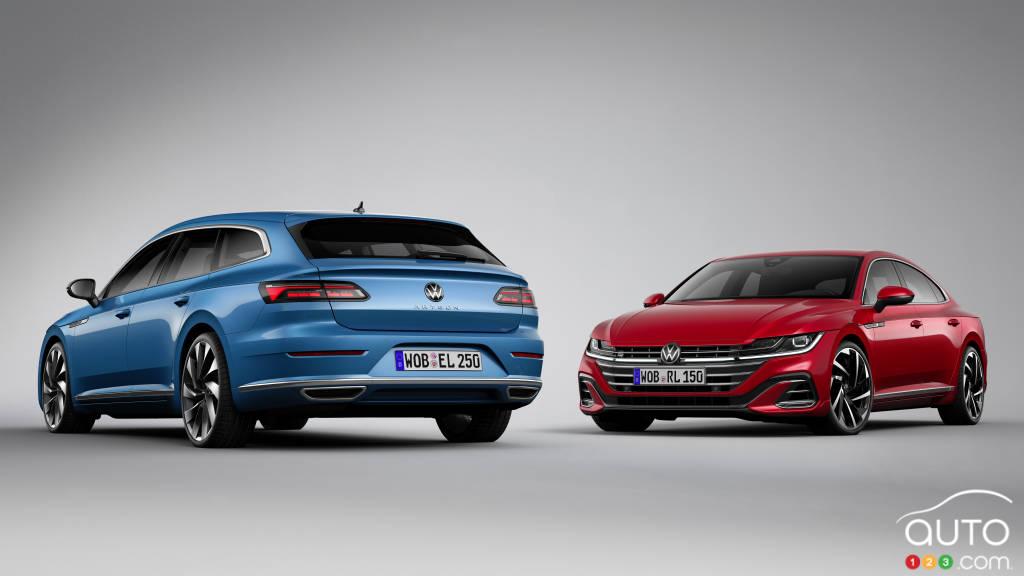 La Volkswagen Arteon 2021, incluant la version familiale (Europe)