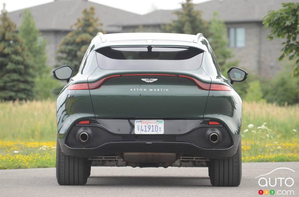 Aston Martin DBX 2021, arrière