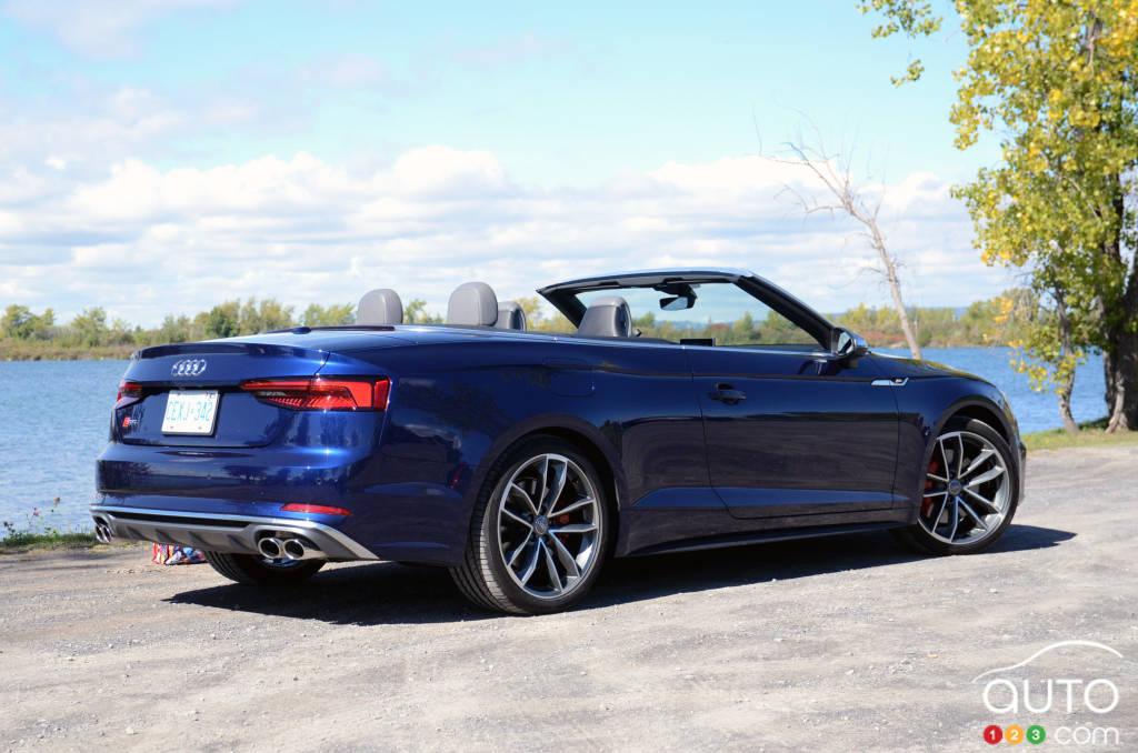 2018 Audi S5 Cabriolet Review Car Reviews Auto123