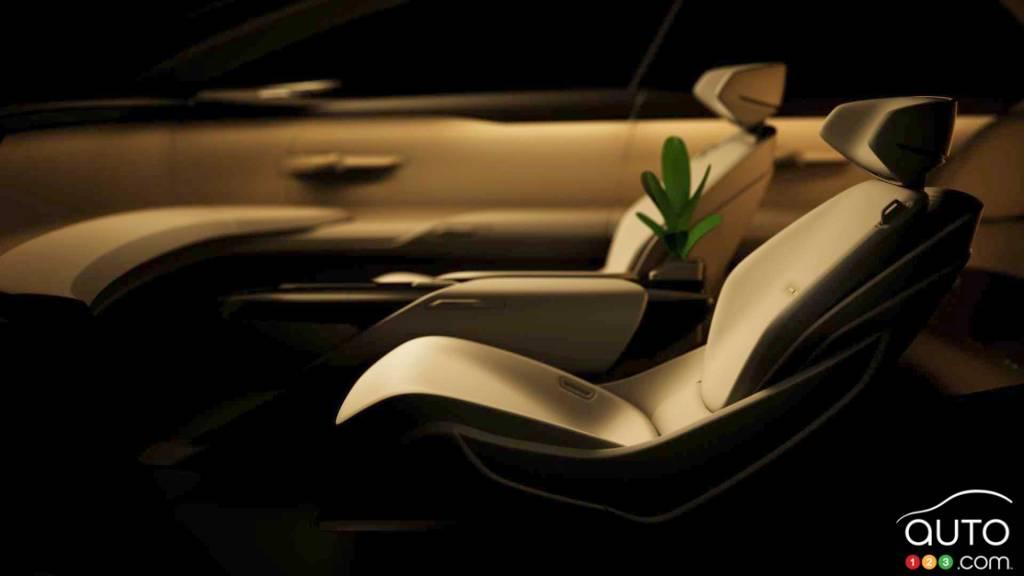 Concept Grand Sphere, sièges