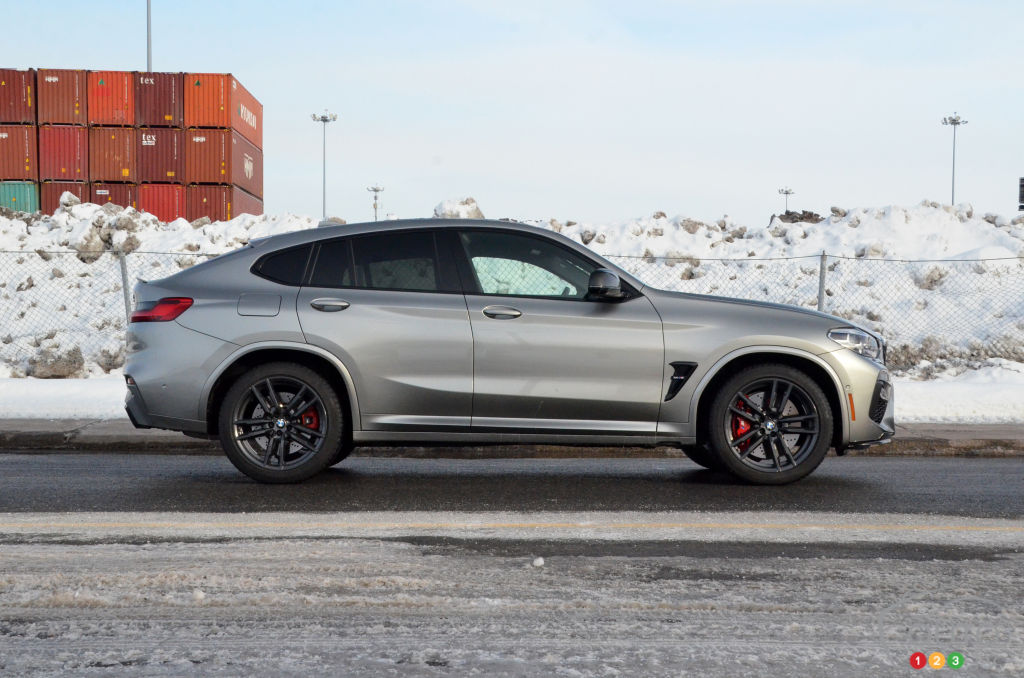 BMW X4 M Competition 2021, profil