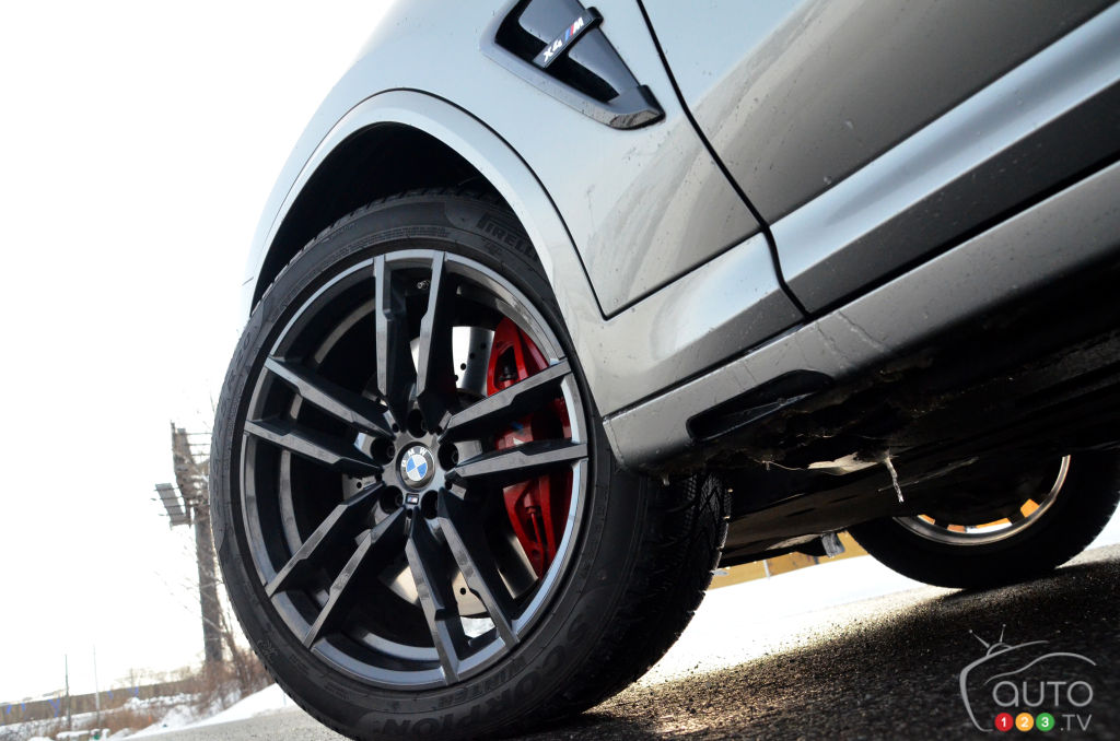 BMW X4 M Competition 2021, roues