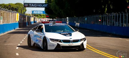 BMW i8 Safety Car