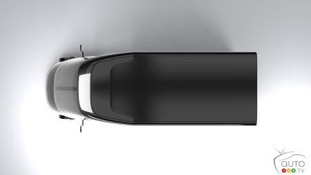 Bollinger Deliver-E concept, from above