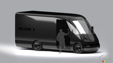 Bollinger Deliver-E concept, three-quarters front