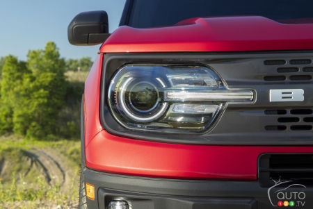 2021 Ford Bronco Sport, headlight