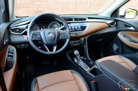 2020 Buick Encore GX, interior