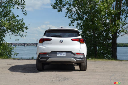 2020 Buick Encore GX, rear