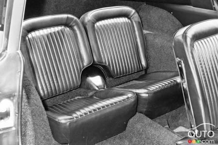 The 4-seat Chevrolet Corvette prototype, 2nd row seats
