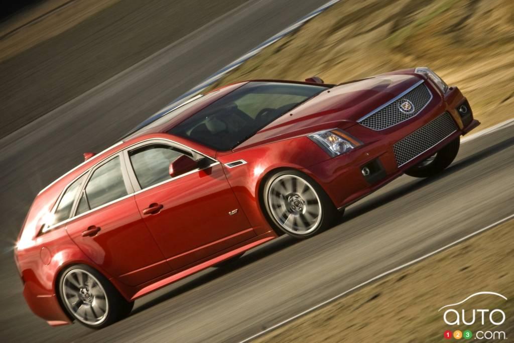 Cadillac CTS-V Sport Wagon 2011