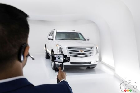 Another Cadillac Live agent, with camera