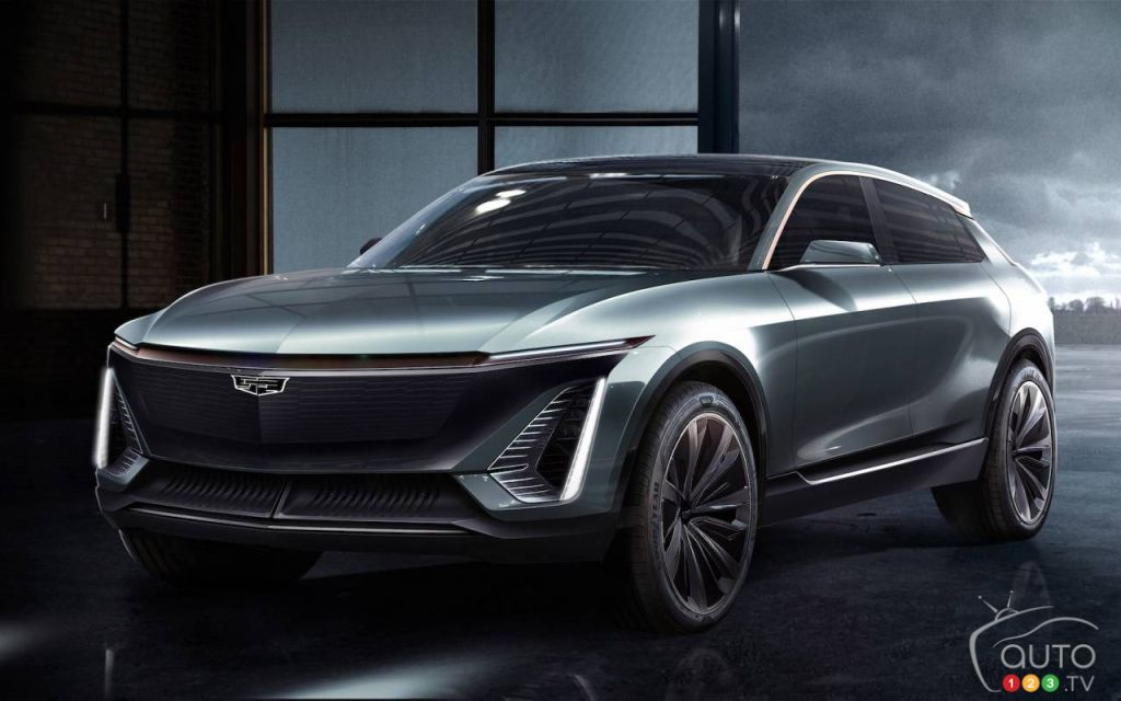 Prototype Cadillac Lyriq