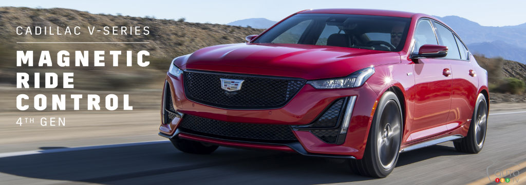La suspension MagneRide 4.0 sera incluse dans la Cadillac CT5-V 2021