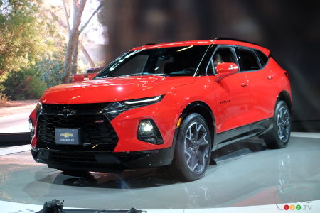 Chevrolet Blazer In Canada Gets 4 Trims 35200 Base Price Car
