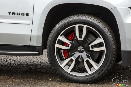 2020 Chevrolet Tahoe, wheel