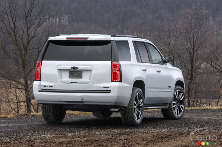2020 Chevrolet Tahoe, rear