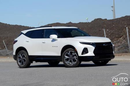 2020 Chevrolet Blazer, profile