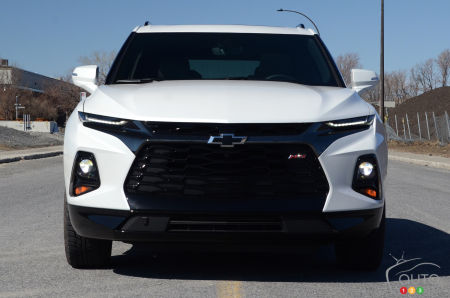 2020 Chevrolet Blazer RS, front