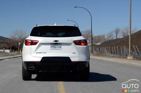 2020 Chevrolet Blazer RS, rear