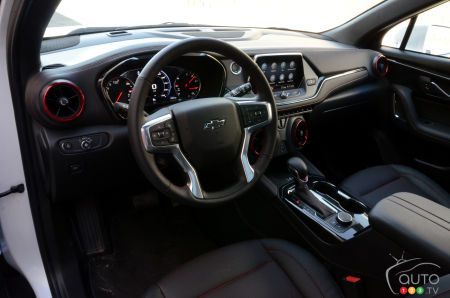2020 Chevrolet Blazer RS, interior