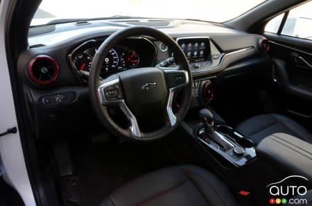 2020 Chevrolet Blazer RS, interior